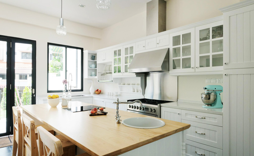 American Hamptons Kitchen