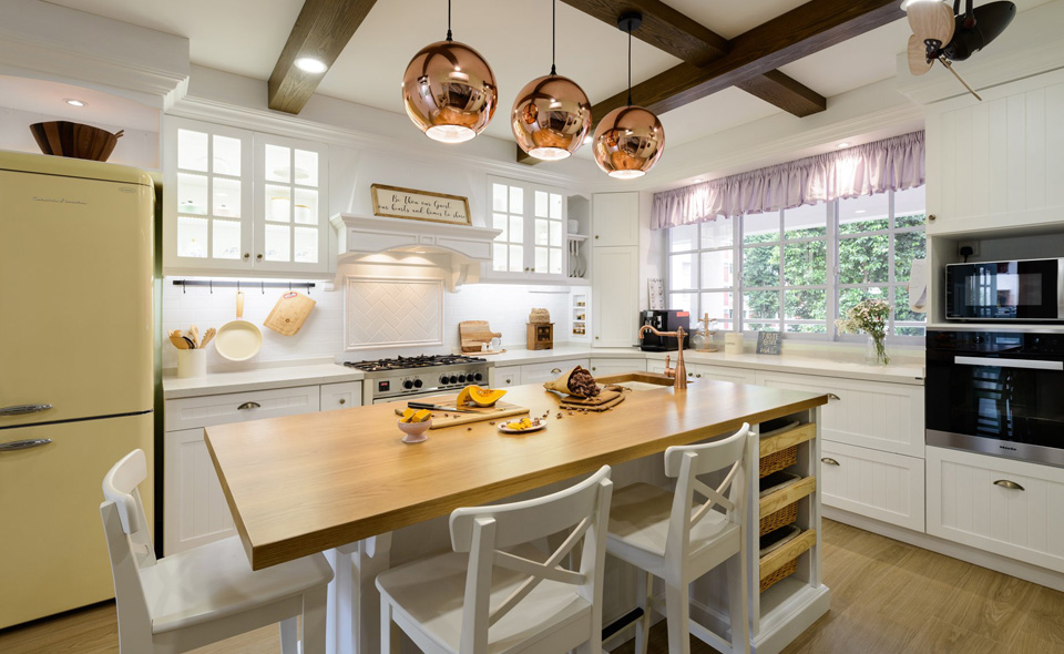 Country Style Scandinavian Style Kitchen And Renovation Contractor